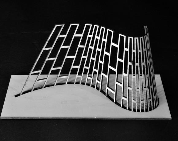 Lattice hinge + surfaces développables
